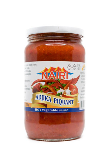 Hot Vegetable Sauce