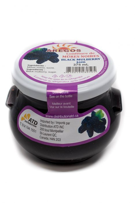black mulberry jam